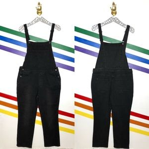 NEW BDG Black overalls